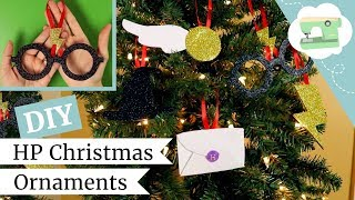 Make 5 Harry Potter Christmas Ornaments! Easy DIY Holiday Decor Ideas | @laurenfairwx | Kholo.pk