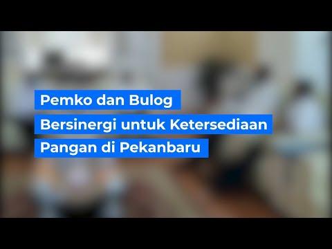 Pemko dan Bulog Bersinergi Untuk Ketersediaan Komoditi Pangan di Pekanbaru