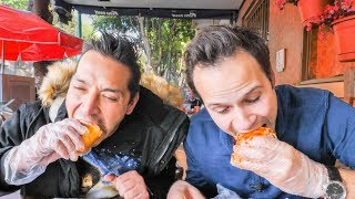 HUGE Street Food TOUR in Mexico City!  DEEP ADVENTURE into the BEST Street Food in Mexico!