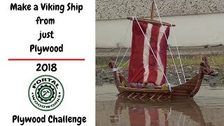 Steven Twydell Plywood Viking Ship