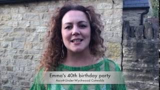 Emma's 40th birthday party