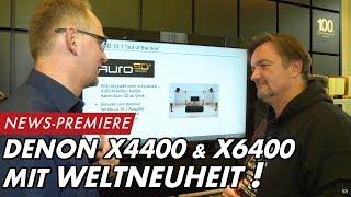 DENON AVR X4400 & X6400 - mit AURO3D WELTNEUHEIT! | GROBI.TV
