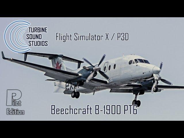 simMarket: TURBINE SOUND STUDIOS - BEECHCRAFT B-1900D PT6 HD PILOT