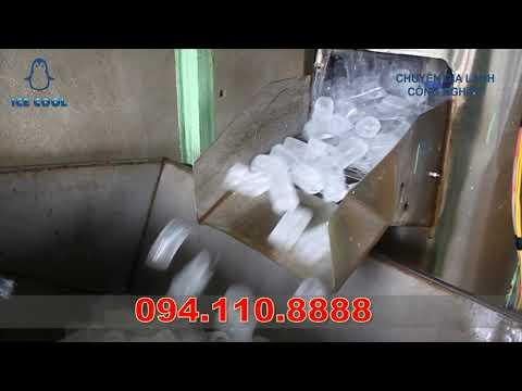 Máy làm đá viên sạch tinh khiết 3 tấn ICE COOL