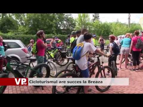 Cicloturismul are succes la Breaza