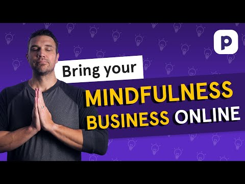 How to run a mindfulness or meditation business online
