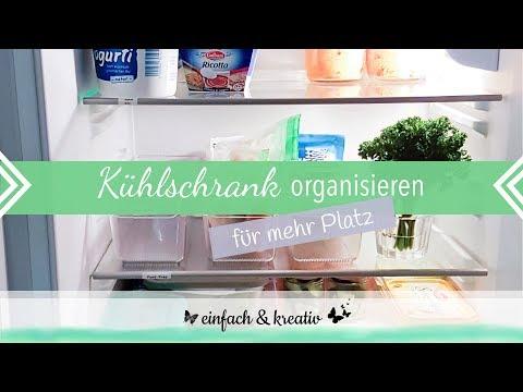 Kühlschrank organisieren - Platz und Zeit effektiv nutzen | Die Ordnungsfee