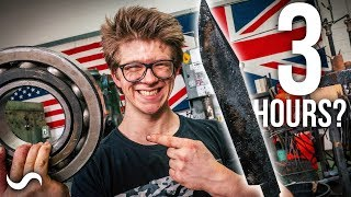DOING THE FORGED IN FIRE CHALLENGE?!?! - Round 1