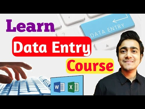 Earn Money Online from Data Entry Jobs | Learn Data Entry Course ...