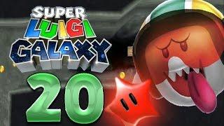 Lets Play Super Luigi Galaxy Part 9 Der Geisterboss самые