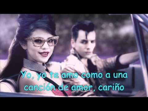 Selena Gomez Love you like a love song Traducida al español