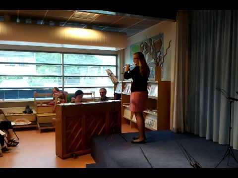 Bekijk details van Muzikale optredens door leerlingen van De Fluithoek