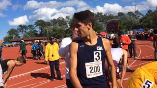 Drake Anzano of CBA wins 2nd straight 1600 title at the Meet of Champions