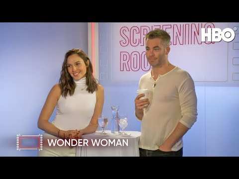 Gal Gadot & Chris Pine Talk Wonder Woman (2017 Movie)|HBO