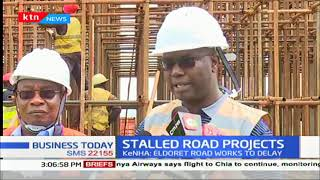 Stalled road projects: Eldoret road works are expected to delay.