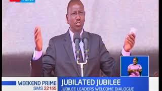 William Ruto has applauded the talks between President Uhuru and Nasa leader Raila Odinga