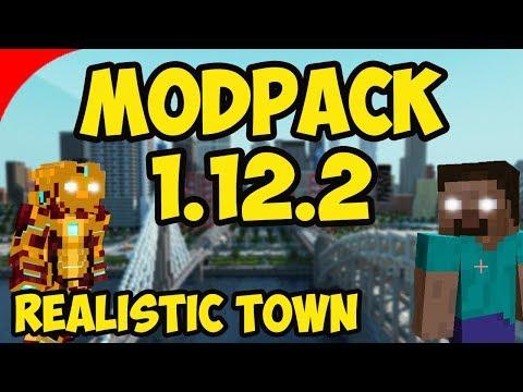 Minecraft ModPack 1.12.2 [80+ MODS] Download (REALISTIC MINECRAFT)