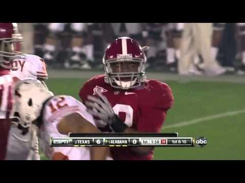 Texas vs. Alabama National Championship Highlights 2010
