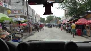 preview picture of video 'Driving to hospital - Port-au-Prince'