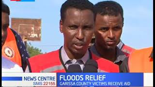 Reprieve as UNICEF and county government of Garissa distribute food to flood victims of Tana river