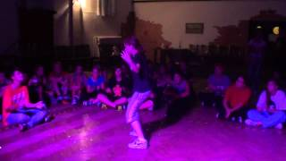 HHH12 Hip Hop Basic Battle - Luki vs Neli