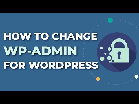 How To Change WP-Admin Url For Wordpress - Hide Your WP-Admin! Mp3