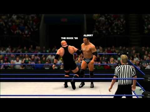 WWE 13 - Universe Mode - SmackDown! - The Rock vs A-Train (W14)