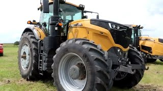 Test Driving the AGCO Challengers!