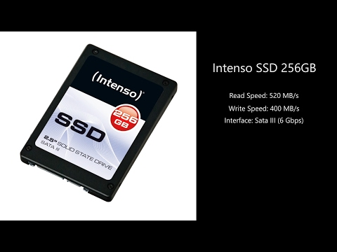 Fastest Programs Launch | SSD Benchmark | Intenso SSD 256GB | Speed up computer