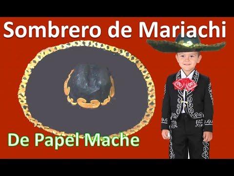 COMO HACER UN SOMBRERO | SOMBRERO CHARRO  | MARIACHI  |  RECICLAJE LMI