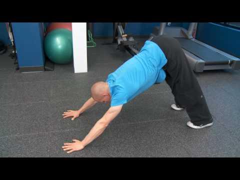 Yoga Push Up