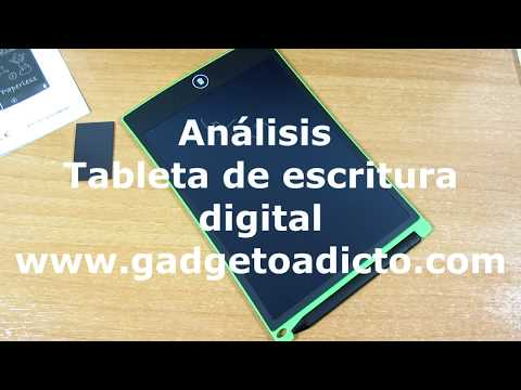 Análisis Tableta de Escritura Digital