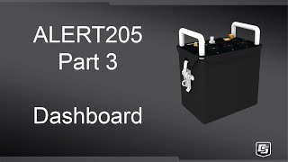 alert205 part 3: dashboard