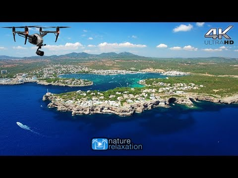 4K DRONE FILM: Mallorca & Canary Islands (+Spa Music) 1HOUR Nature Relaxation™ Aerial Ambient Film