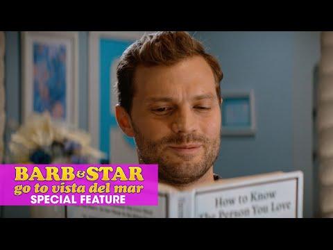 "Barb & Star Go To Vista Del Mar (2021 Movie) Special Features ""Casting of Jamie Dornan"""