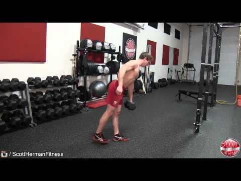 Single-Leg Dumbbell Straight-Leg Deadlift
