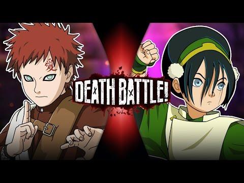 Gaara VS Toph (Naruto VS Avatar)   DEATH BATTLE!