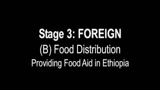 GAO: U.S. Food Aid Supply Chain: Stage 3- Foreign (B) Food Distribution, Providing Food Aid in Ethiopia