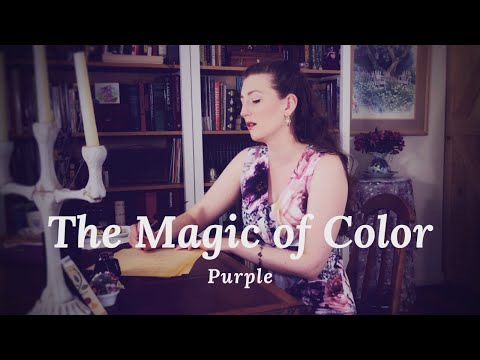 The Magic of Purple - the third song in my series of songs about colors.