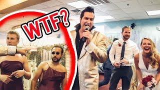 ASKING STRANGERS TO CRASH THEIR WEDDING (Epic Vegas Party)
