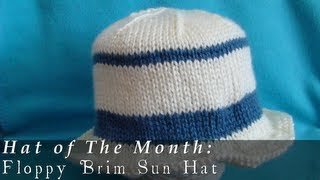 Hat of The Month  |  July 2013  |  Floppy Brim Sun Hat