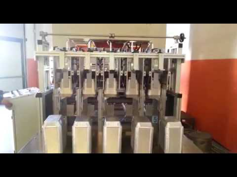 Semi Automatic Aluminium Foil Container Machine