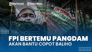 FPI Bertemu Pangdam Jaya, Sampaikan akan Bantu Copot Baliho dengan Syarat