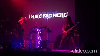 Video INSANIDROID - Beat Time - Live @ Cyborgs Unleashed, Praha 25/10/