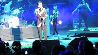 ADAM LAMBERT   Chokehold, *shoes*, Broken English   Pac Amph 7 19 12