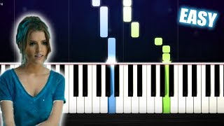 """Anna Kendrick - Cups (Pitch Perfect's """"When I'm Gone"""") - EASY Piano Tutorial by PlutaX"""