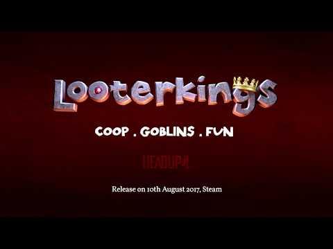 Looterkings Launch Trailer english thumbnail