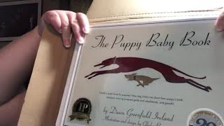 UNBOXING THE PUPPY BABY BOOK BY DAWN GREENFIELD IRELAND   A GIRL BEING FRUGAL