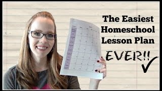 The Easiest Homeschool Lesson Plan EVER!   My 6th Grader's Weekly Lesson Plan