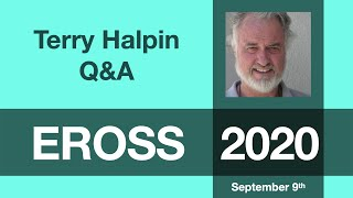 Terry Halpin: Q&A Session